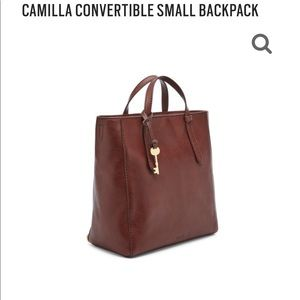 Fossil Camilla convertible bag-to-backpack!